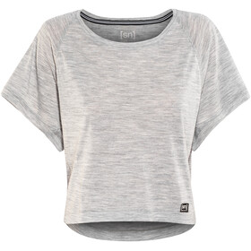 super.natural Motion Peyto Shortsleeve Shirt Women grey